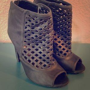 Very cute open toe high heels